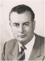 A young Gough Whitlam